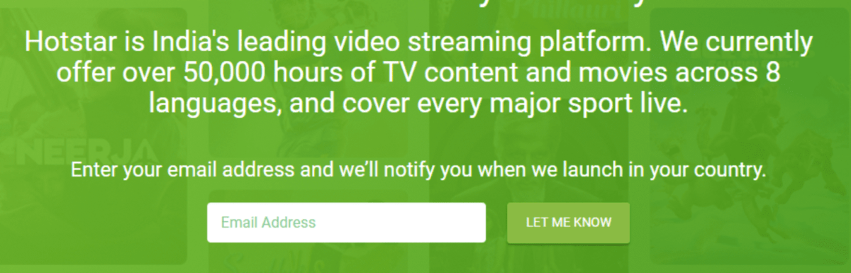 How to Watch Hotstar in USA / UK (Unblock Outside India)