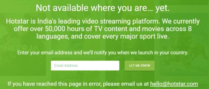 How to unblock hotstar outside india, in us uk